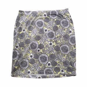 J. Jill floral cotton mini skirt. Size small